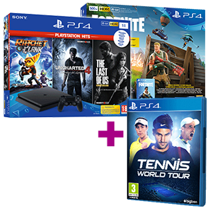 PlayStation 4 (Slim o Pro) + Tennis World Tour