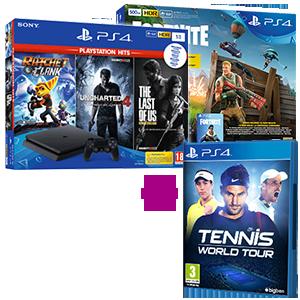PlayStation 4 (Slim o Pro) + Tennis World Tour