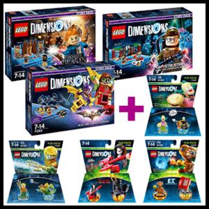 Lego Dimensions Story Pack a elegir + Fun Pack a elegir