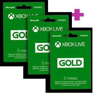 Promoción 9 meses Xbox Live por 39,95€