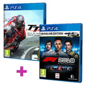 Pack F1 2018 + TT Isle of Man
