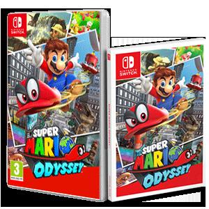 Super Mario Odyssey + guía de regalo