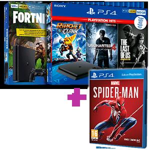 Playstation 4 a elegir por 50€ menos + Spider-Man de regalo