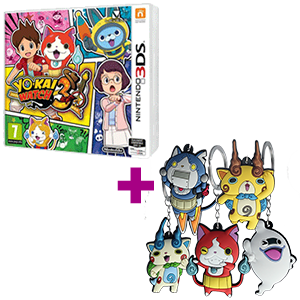 YO-KAI WATCH 3 + Llavero 2D YO-KAI WATCH