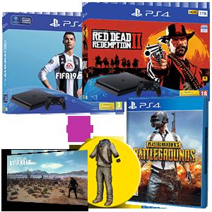 PlayStation 4 (Slim o Pro) + PlayerUnknown's Battlegrounds de regalo