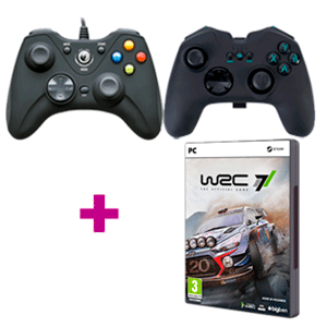 Gamepad Nacon a elegir + juego WRC 7