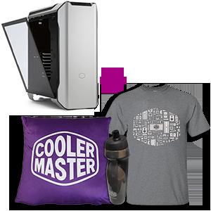 Cooler Master MasterCase SL600M + lote de merchandising (camiseta, cantimplora y cojín) de regalo
