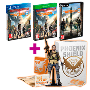 The Division 2 + figura Phoenix Shield