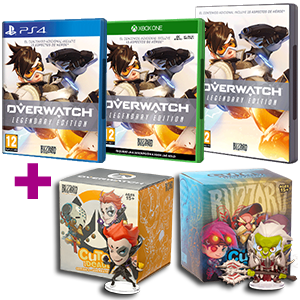 Overwatch + figura Overwatch Cute but Deadly (Serie 4 o 5)