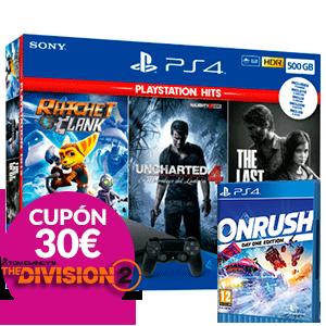 PS4 a elegir + ONRUSH de regalo