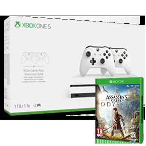 Xbox One S + AC Odyssey de regalo