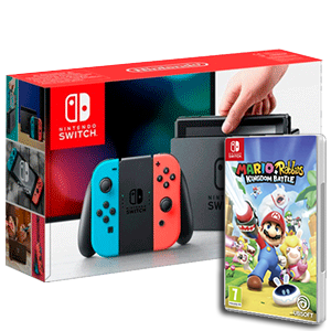 Nintendo Switch + Mario+Rabbids Kingdom Battle