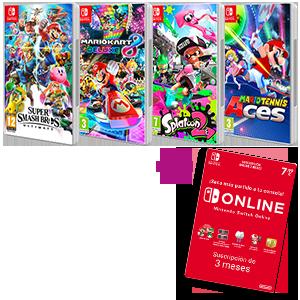 Juego + Switch Online 3M de regalo