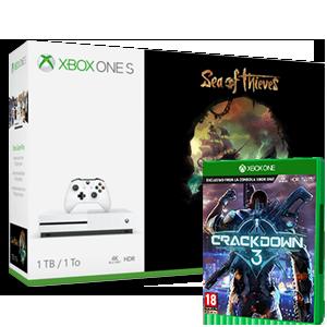 Xbox One S + CrackDown 3