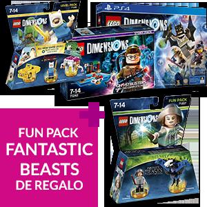 LEGO Dimensions (juego o pack de figuras) + Fun Pack: Fantastic Beasts de regalo