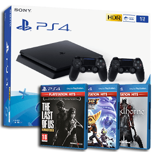 PlayStation 4 + juego Playstation Hits de regalo