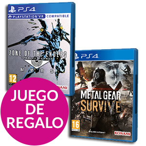 Zone Of The Enders: The 2nd Runner MARS + Metal Gear Survive de regalo
