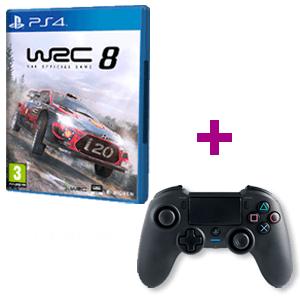 WRC 8 + Mando Nacon Asimétrico