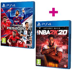 NBA 2K20 + eFootball PES 2020