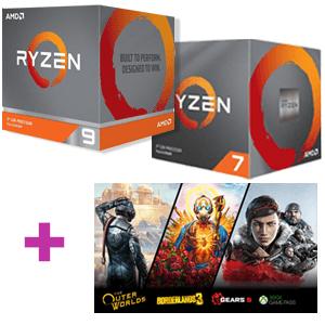 Procesador AMD Ryzen + 2 Juegos