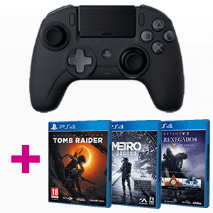Controller Nacon Pro Unlimited + Juego PS4 a elegir