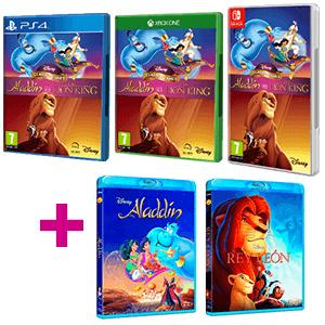 Disney Classic Games + Película animación Disney