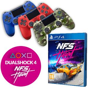 Need for Speed Heat + Dualshock 4 a elegir