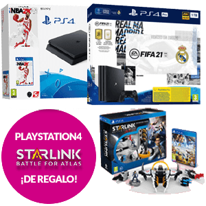 Consola PlayStation 4 + Starlink de regalo