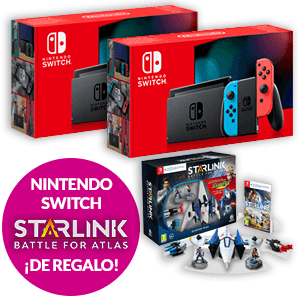 Nintendo Switch Modelo 2019 + Starlink Starter Pack