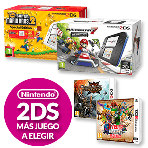 Nintendo 2DS + Juego a elegir de regalo
