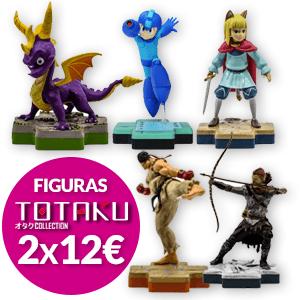 2x12€ en Figuras Totaku Collection