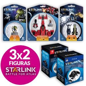 3X2 en figuras Starlink