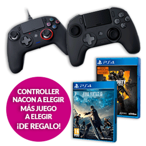 Mando Nacon para PS4 + Final Fantasy XV de regalo.