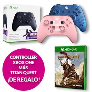 Controller Xbox + Titan Quest de regalo