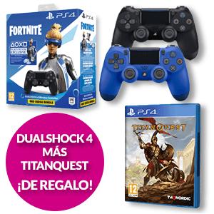 Dualshock 4 V2 + Titan Quest de regalo