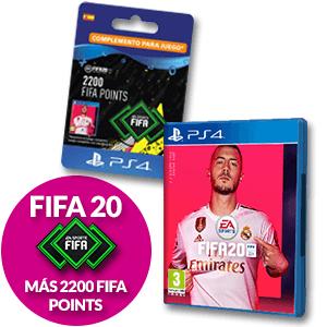 FIFA 20 + 2200 FIFA POINTS