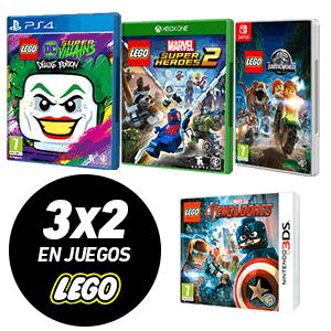 3x2 en juegos LEGO