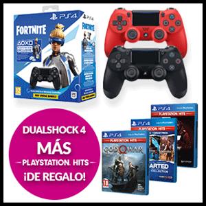 Dualshock 4 + Juego PS Hits por 59,95€
