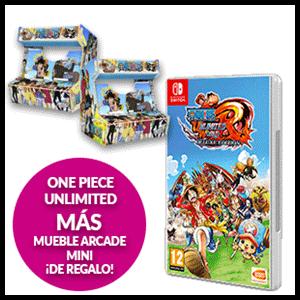 One Piece Unlimited World Red+ Mueble Arcade Mini de Regalo