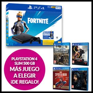 PlayStation 4 Slim 500 GB+ juego a elegir de regalo