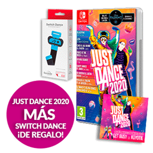 Just Dance 2020 + Switch Dance Rainbow de regalo