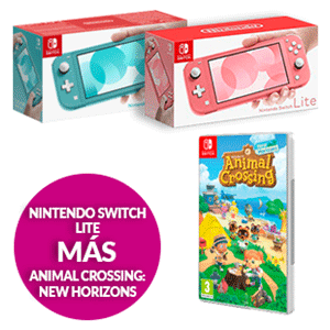 Nintendo Switch Lite + Animal Crossing: New Horizons