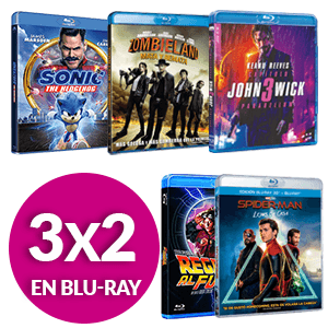 3X2 En Blu-Ray Sony Pictures