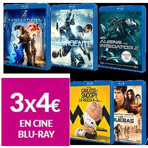 3 Películas Blu-Ray por 5€