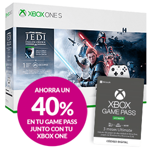 Xbox One S o X + Game Pass Ultimate al 40%