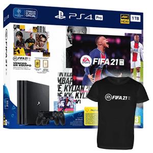 Playstation 4 Slim PRO 1Tb + FIFA 21 + FUT+ 2 Controller Sony Dualshock 4 V2