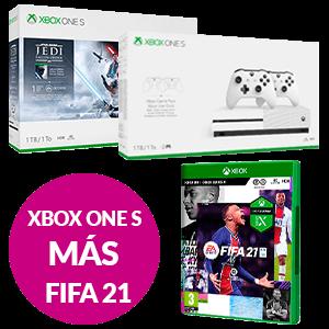 Xbox One S + FIFA 21
