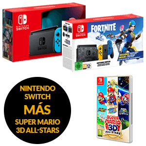 Nintendo Switch + Super Mario 3D All Stars