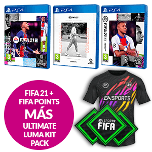 FIFA 21+ FIFA Points + Ultimate Luma Kit Pack