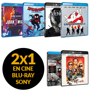 2x1 En cine Blu-Ray  SONY PICTURES - FOX